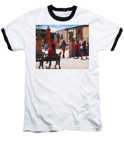 Baseball T-Shirt featuring the photograph Just Before The Wedding by John Kolenberg