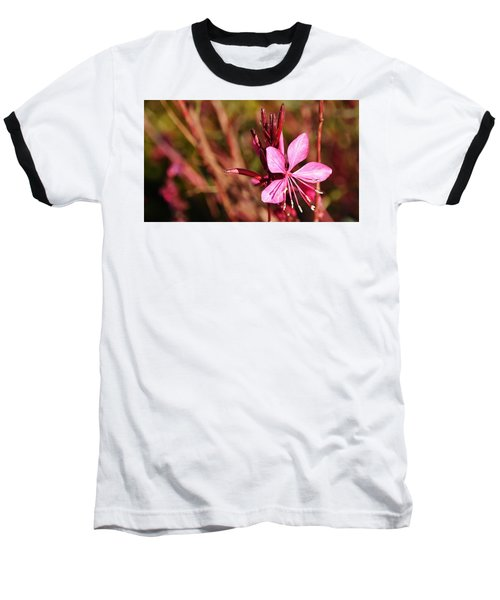 Just In Pink Baseball T-Shirt by Werner Lehmann
