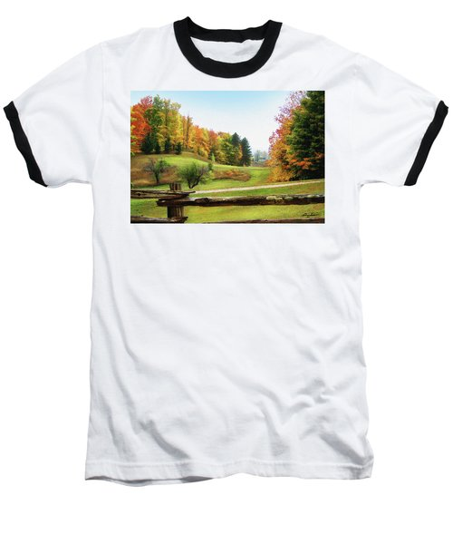 Just Over The Next Ridge Baseball T-Shirt