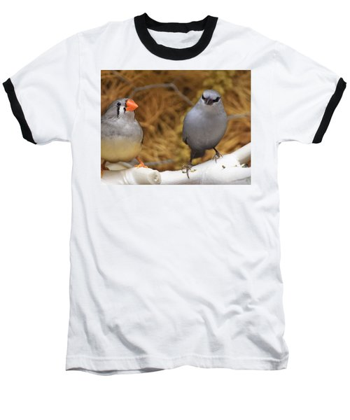 Just Passing The Time Baseball T-Shirt