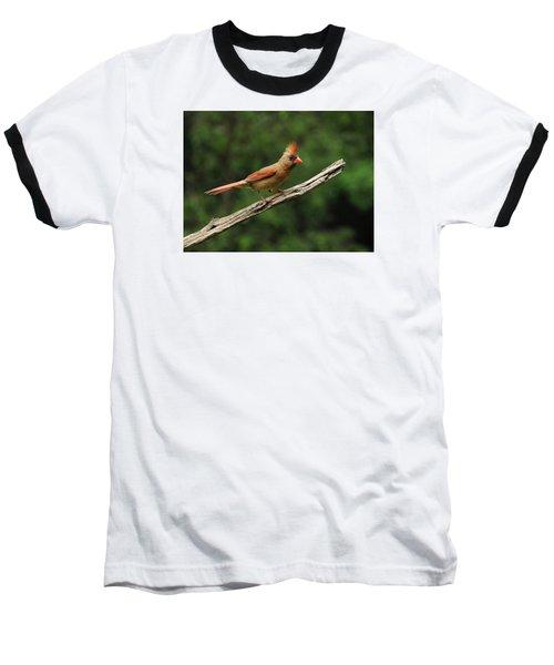 Juvenile Female Cardinal Baseball T-Shirt