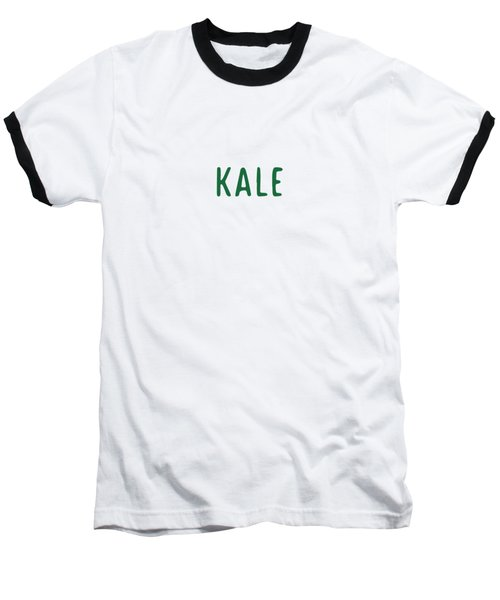 Kale Baseball T-Shirt by Cortney Herron