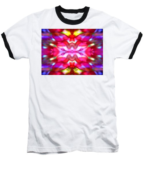 Baseball T-Shirt featuring the photograph Kaleidoscope Wonder by Barbara Tristan