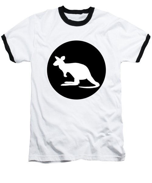 Kangaroo  Baseball T-Shirt