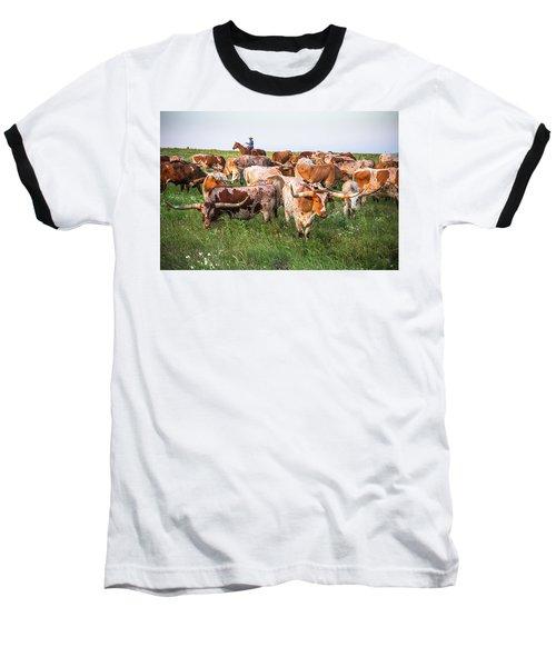 Kansas Flint Hills Longhorns Baseball T-Shirt