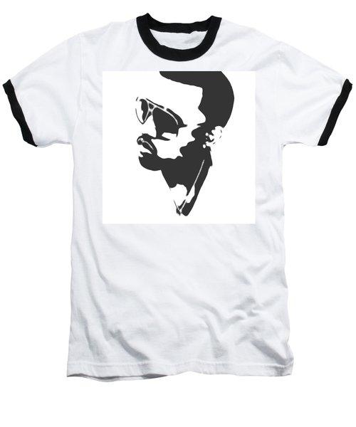 Kanye West Silhouette Baseball T-Shirt