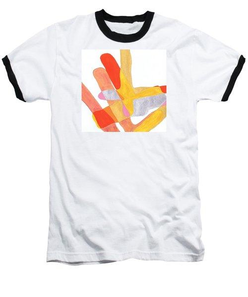 Karlheinz Stockhausen Tribute Falling Shapes Baseball T-Shirt