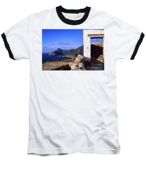 Baseball T-Shirt featuring the photograph Karpathos Island Greece by Silvia Ganora