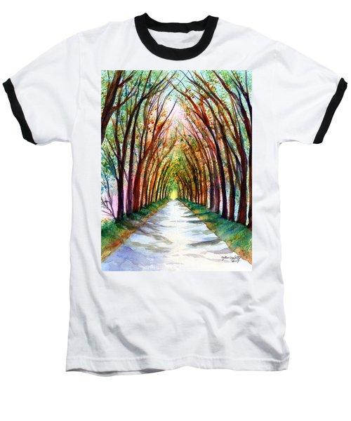 Kauai Tree Tunnel 4 Baseball T-Shirt