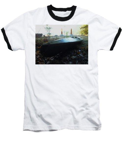 Kayak Baseball T-Shirt by Mark Alan Perry