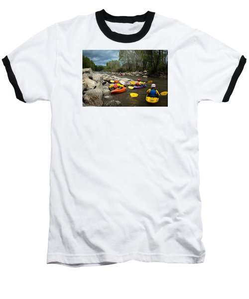 Kayaking Class Baseball T-Shirt