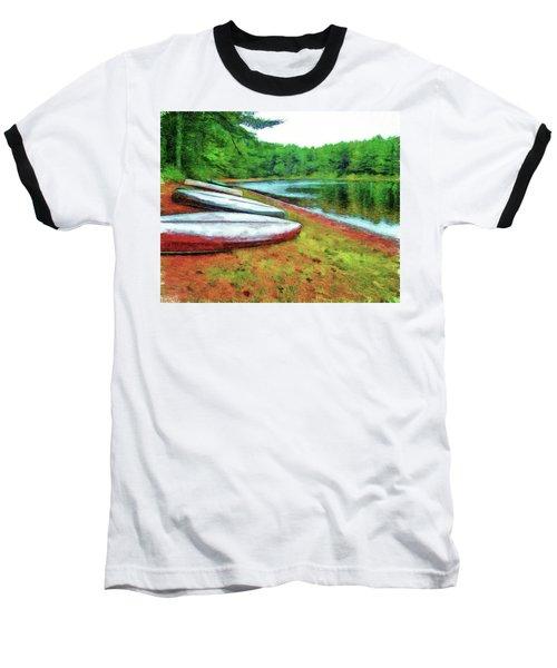 Kearney Lake Beach Baseball T-Shirt
