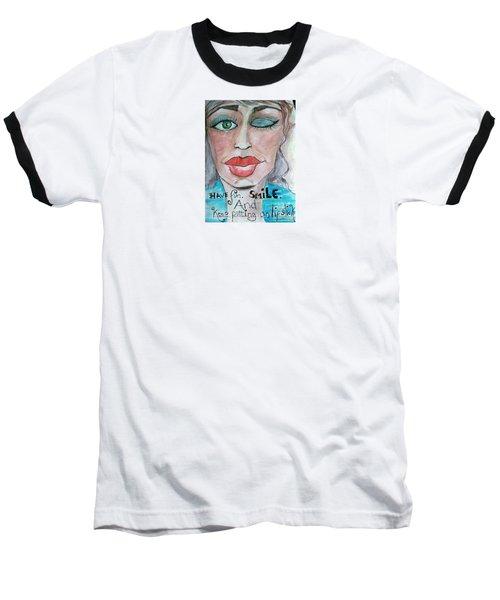 Keep Putting On Lipstick Baseball T-Shirt