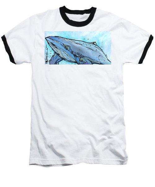 Keep Swimming Baseball T-Shirt