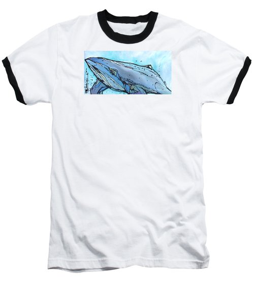 Keep Swimming Baseball T-Shirt