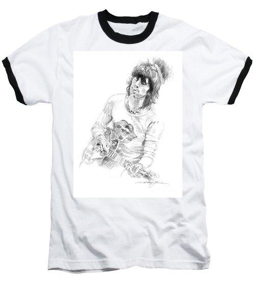 Keith Richards Exile Baseball T-Shirt