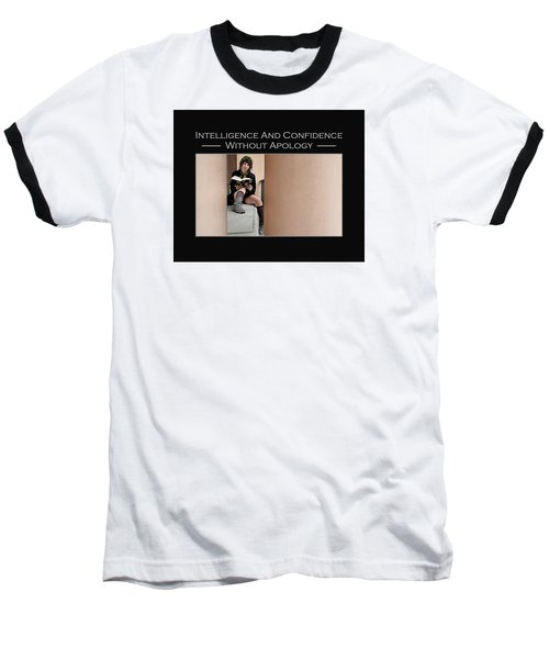Kellie Peach 11-229 Baseball T-Shirt by David Miller