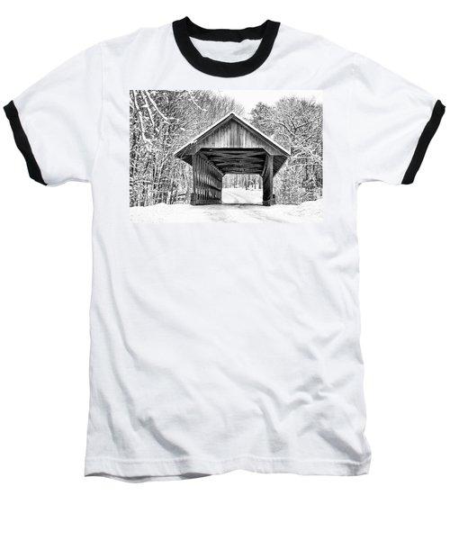 Keniston Covered Bridge  Baseball T-Shirt
