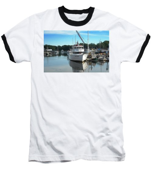 Baseball T-Shirt featuring the photograph Kennubunk, Maine -1 by Jerry Battle