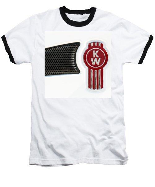 Kenworth Tractor White Baseball T-Shirt