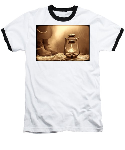 Kerosene Lamp Baseball T-Shirt