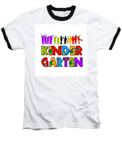 Kids Kindergarten Baseball T-Shirt