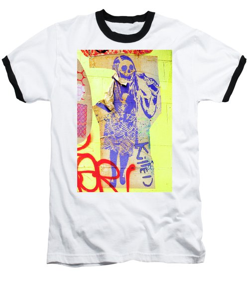 Baseball T-Shirt featuring the photograph Killed by Art Block Collections