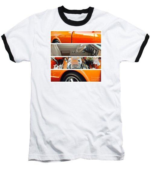 Killeen Texas Car Show - No.2 Baseball T-Shirt by Joe Finney