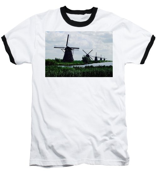 Kinderdijk Baseball T-Shirt