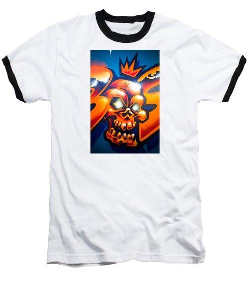 King Baseball T-Shirt by Mariusz Czajkowski
