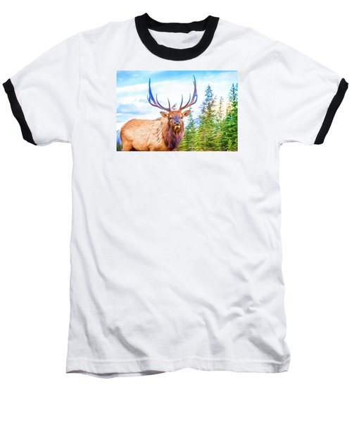 King Of The Forest Baseball T-Shirt