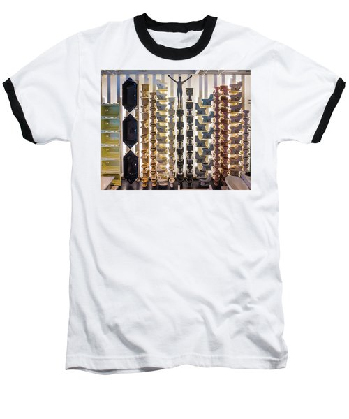 Baseball T-Shirt featuring the photograph King Of Thrones by Bill Pevlor
