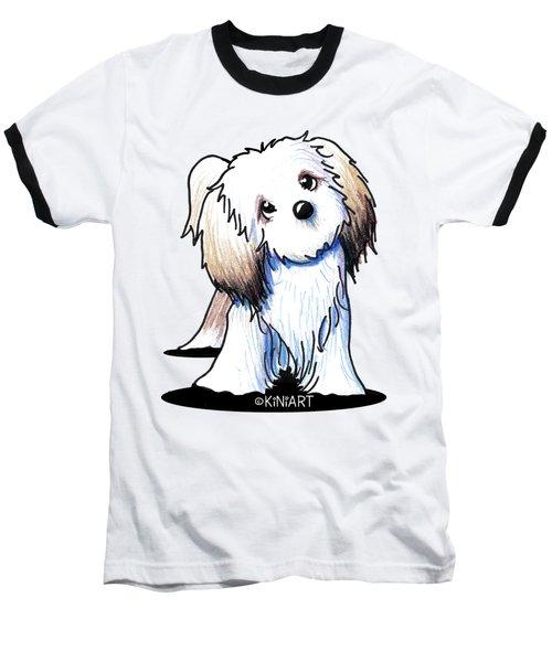 Kiniart Lhasa Apso Baseball T-Shirt