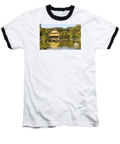 Baseball T-Shirt featuring the photograph Kinkakuji by Pravine Chester