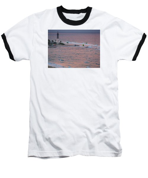 Kiteboarding At Hillsboro Baseball T-Shirt