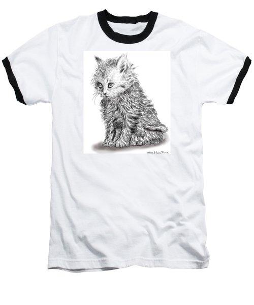 Kitten #1 Baseball T-Shirt