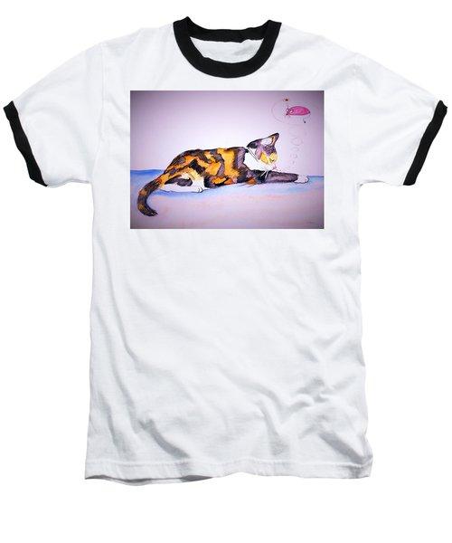 Kitty Cat Baseball T-Shirt