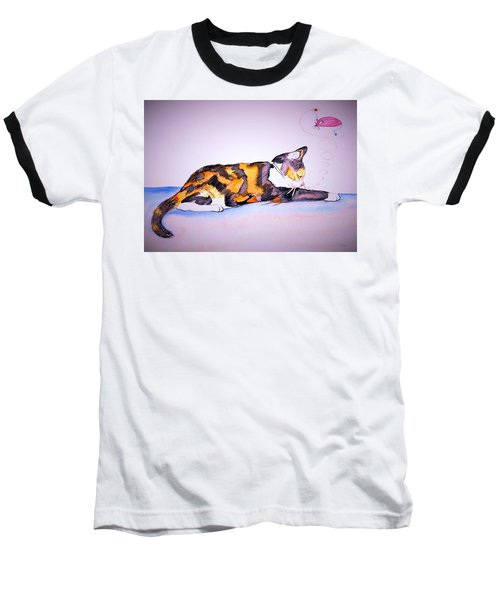 Kitty Cat Baseball T-Shirt