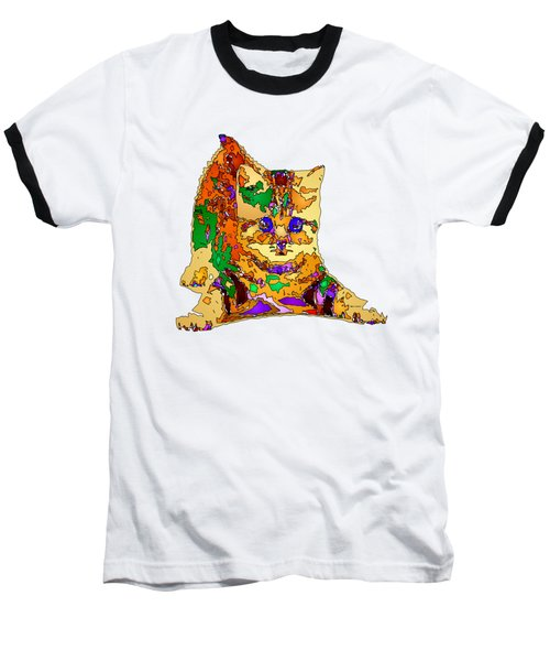 Kitty Love. Pet Series Baseball T-Shirt