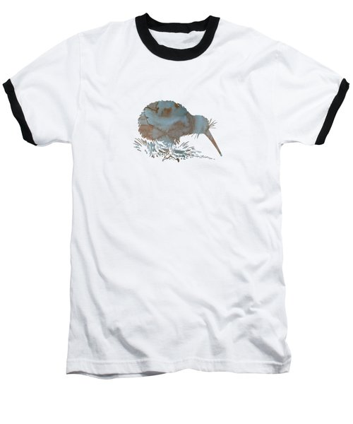Kiwi Baseball T-Shirt by Mordax Furittus