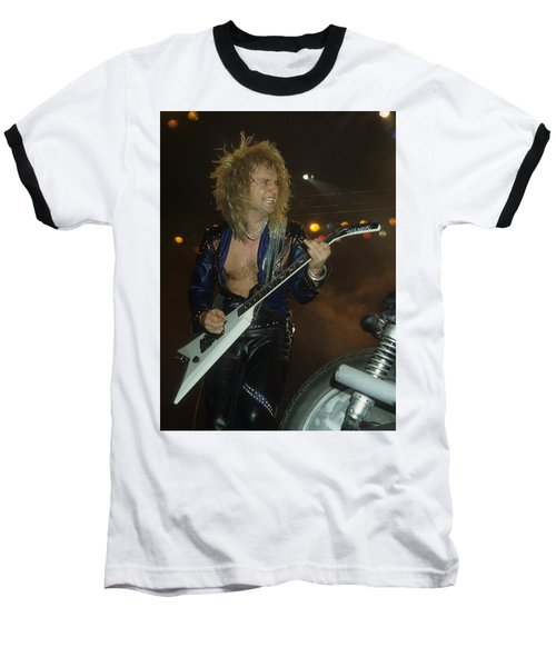 Kk Downing Of Judas Priest Baseball T-Shirt