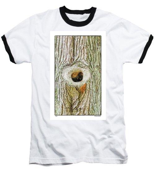 Knot Baseball T-Shirt by R Thomas Berner