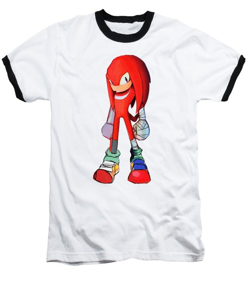 Knuckles Sketch Baseball T-Shirt