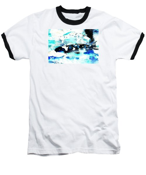 Koi Abstract 2 Baseball T-Shirt
