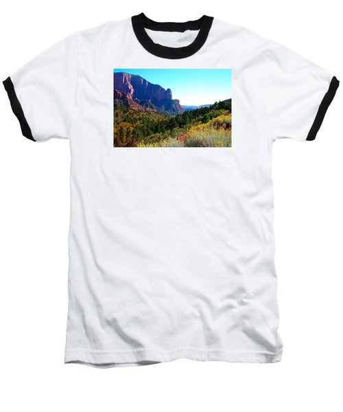 Kolob Canyon Baseball T-Shirt