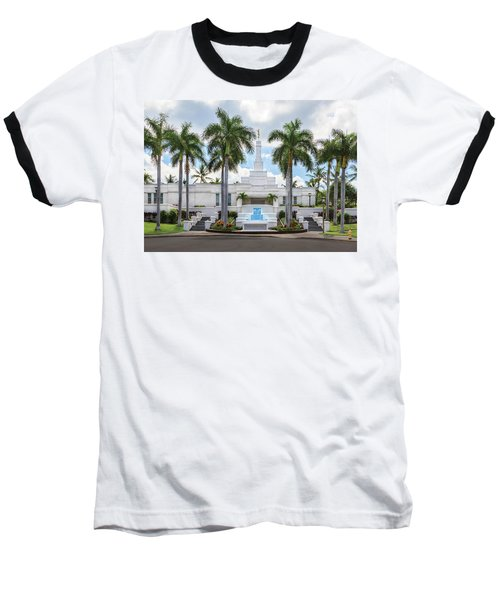 Kona Hawaii Temple-day Baseball T-Shirt