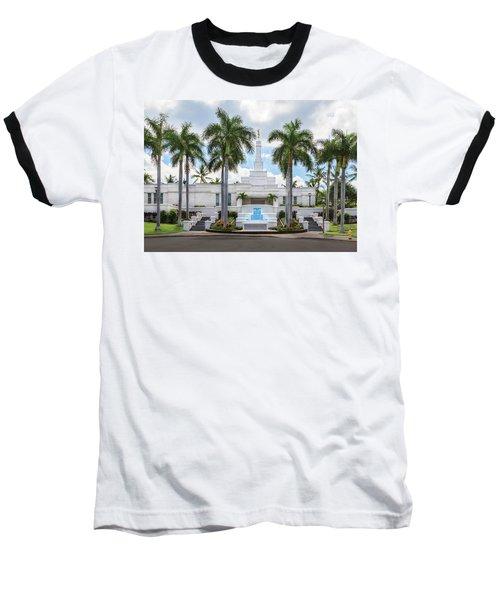 Kona Hawaii Temple-day Baseball T-Shirt