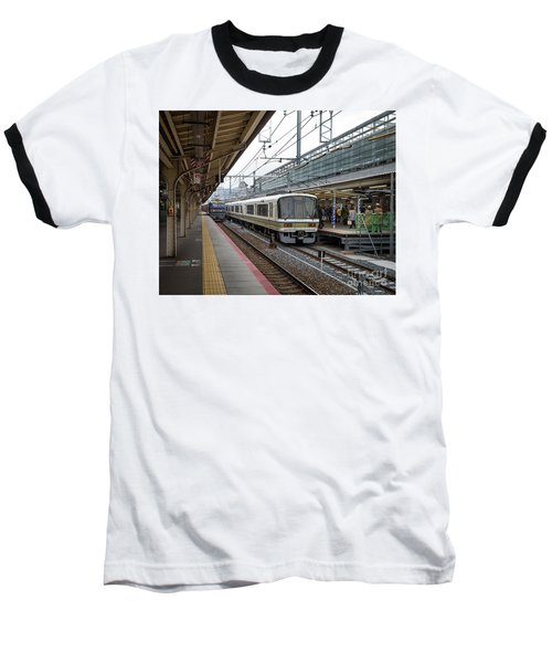 Kyoto To Osaka Train Station, Japan Baseball T-Shirt