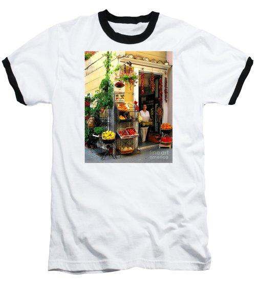 L Argogo Di Adriana  Minori Baseball T-Shirt by Jennie Breeze