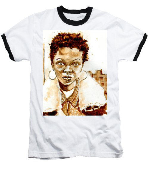L Boogie Baseball T-Shirt by Howard Barry